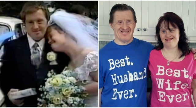 PEOPLE: Couple with Down's Syndrome celebrates their 22 years long wedding journey, proving their doubters wrong!