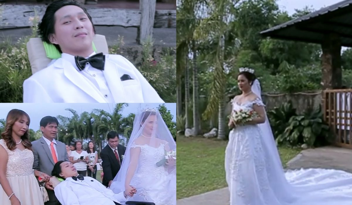Unconditional LOVE: Angela Marries Her Paralyzed BF Christian Mallari