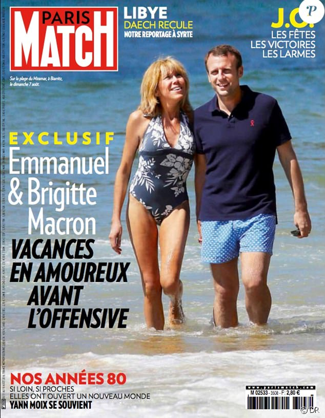 PEOPLE: Emmanuel Macron, The 2017 French President And A Wife 25 Years Older