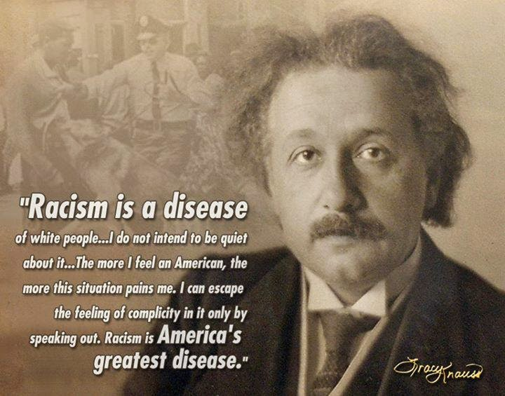 PERSONALITY: Albert Einstein, An Iconic Scientist Who Is An Anti Racist Too