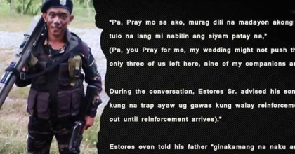 "WAR: Soldier Called His Father For The Last Time, ""Pa, Pray for Me"" Before Being Hit By The Terrorists"