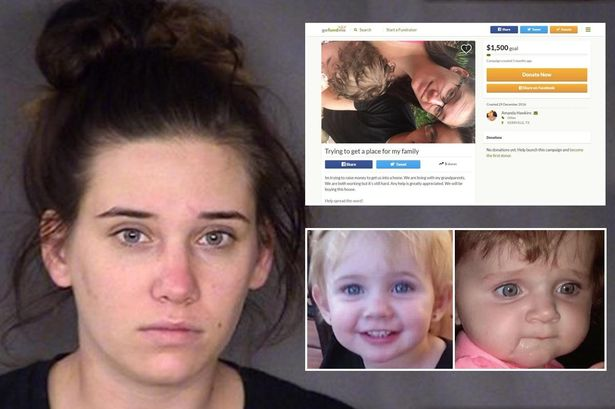 TERRIFYING: Evil Mum Amanda Hawkins 'Intentionally' Locked Her Two Toddlers In Hot Car To Party With Friends