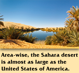 TRAVEL: Interesting Facts About Sahara Desert