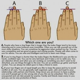 PALMISTRY: HOW YOUR FINGER SHAPE DETERMINES YOUR PERSONALITY