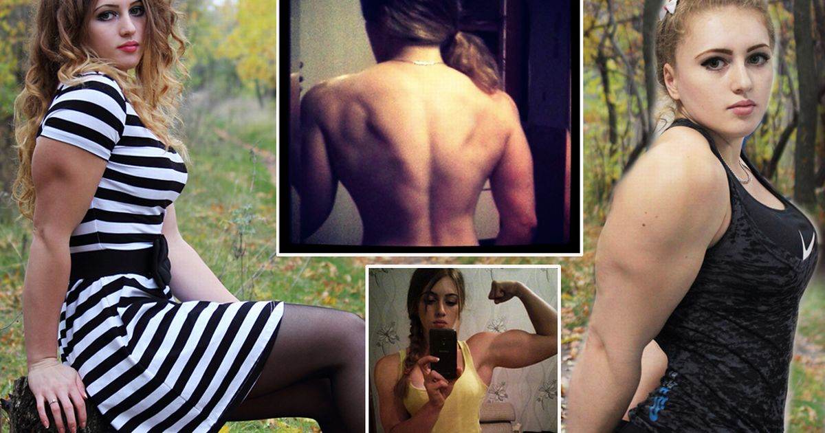 VIRAL PEOPLE: A Russian Girl, The Muscle Barbie