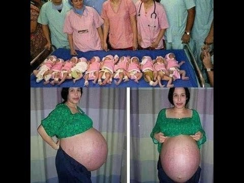 VIRAL HOAX: Indian Woman Gives Birth to Eleven Babies at Once