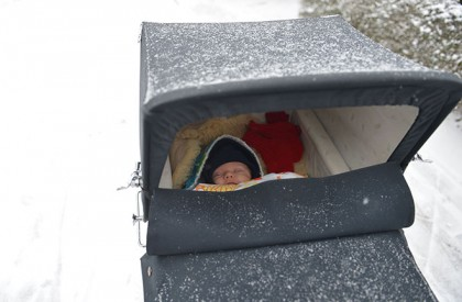 HEALTH Education: Why Babies Are Left To Sleep In Freezing Weather