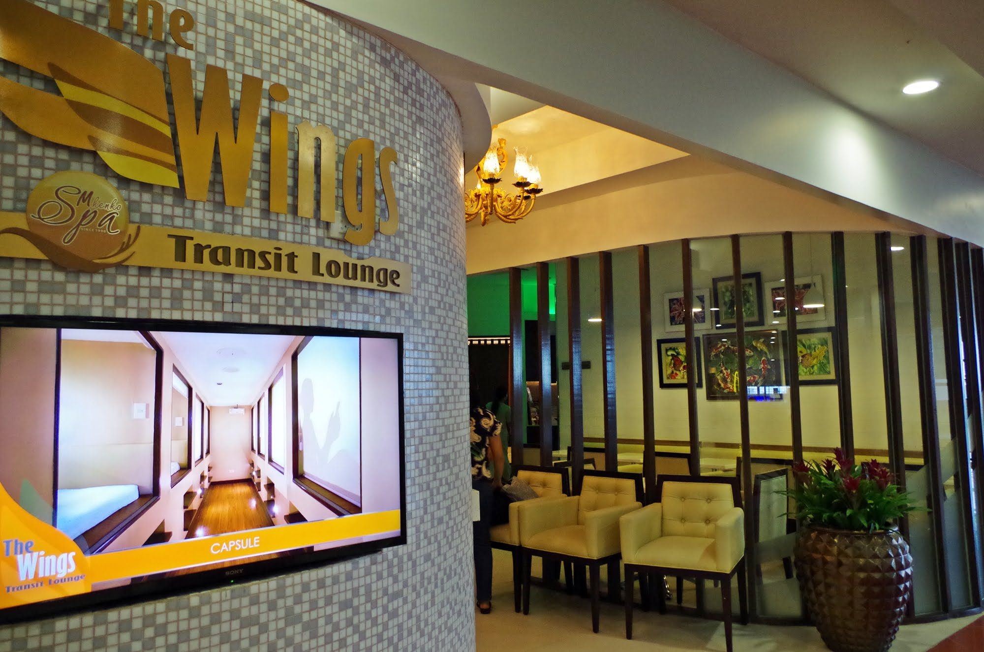 TRAVEL: NOW OPEN TRANSIT LOUNGE FOR YOU TO SLEEP OVER AT NAIA AIRPORT