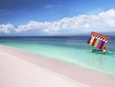 TRAVEL: Pink Beach On Sta. Ana Island, Zamboanga  Named Among The World's Best Beaches