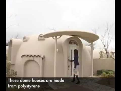 ARTS AND DESIGN: Japan's quirky, quake-resistant dome houses prove a big draw for tourists