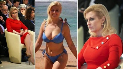 PEOPLE: Fact About The Croatian's President In A Sizzling Hot Bikini Photos