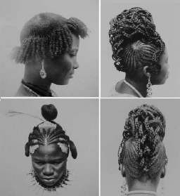 BEAUTY AND FASHION: Then and Now African Hairstyles