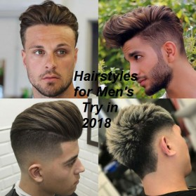 FASHION: 2018 Hairstyle for Men