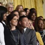 Michelle Obama, Katherine Pastor, Wyatt Whitegoat