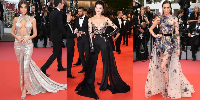 ENTERTAINMENT: Most Revealing Looks of the Fashionable Cannes Film Festival 2018