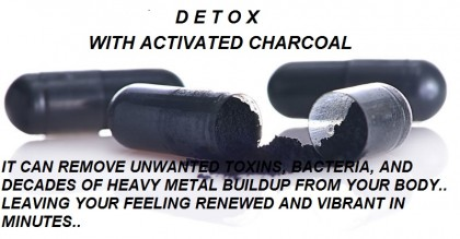 HEALTH EDUCATION: Detox With Activated Charcoal