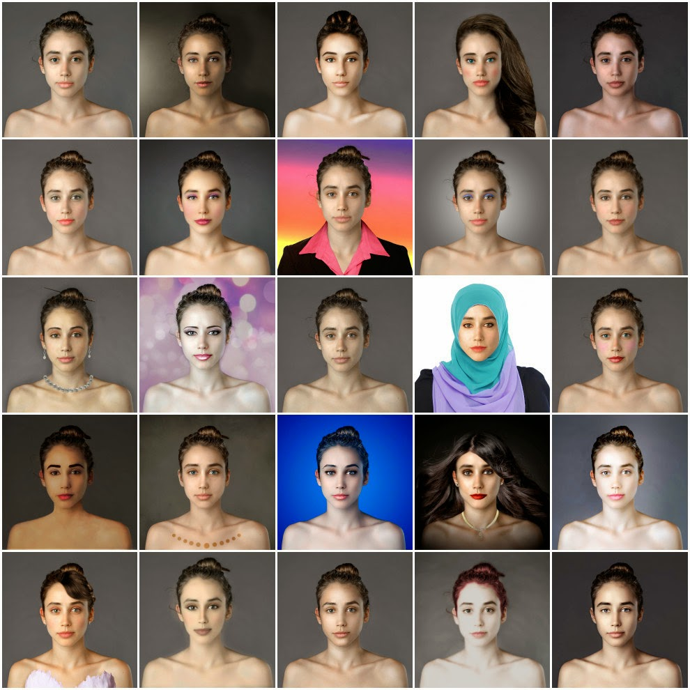 BEAUTY: Esther Honig, Woman Had Her Face Photoshopped In More Than 25 Countries To Compare Their Beauty Standards
