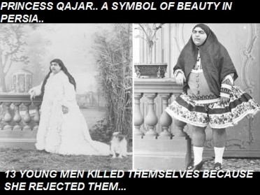 PEOPLE: Princess Qajar, Considered The Ultimate Symbol Of Beauty In Persia During The Early 1900s And The Problem With Junk History Memes