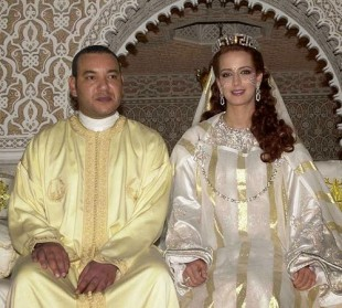 LOVE: Moroccan King's Love At First Sight Redhead Lady Broke Centuries Of Tradition