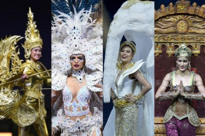 ENTERTAINMENT: Best and Most Interesting National Costumes from Miss Universe 2018
