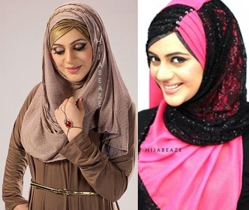 FASHION: Beautiful And Modern Hijab Styles To Wear