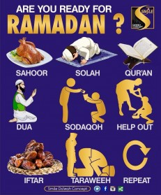 RELIGION: MONTH OF RAMADAN AND THINGS THAT BREAK AND DOESN'T BREAK YOUR FAST DURING MONTH OF RAMADAN
