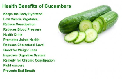 HEALTH: Cucumbers And Its Health Benefits, Nutritional Content, And Uses